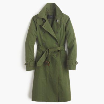 Military trench coat : | J.Crew