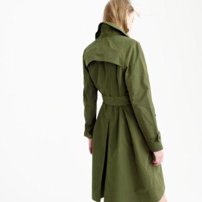 Military trench coat : Women trenches & anoraks | J.Crew