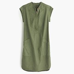 Soft henley dress