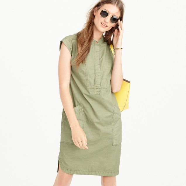 Soft henley dress