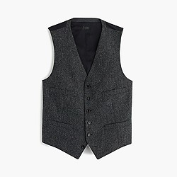 Ludlow suit vest in English wool