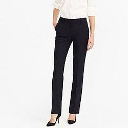 Campbell trouser in pinstripe Super 120s wool