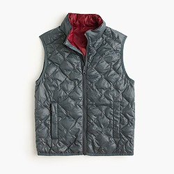 Kids' 3-in-1 reversible nylon puffer vest