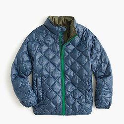 Kids' 3-in-1 reversible nylon puffer jacket