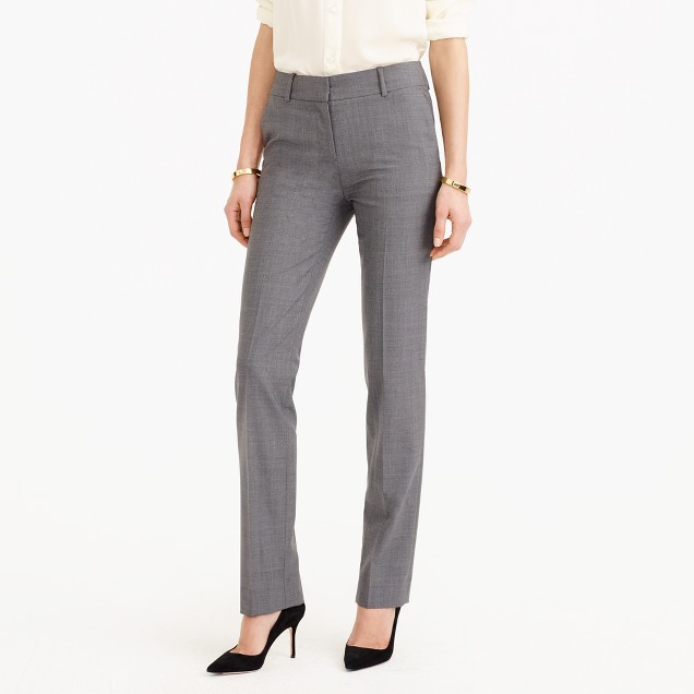 Tall Campbell trouser in Italian stretch wool