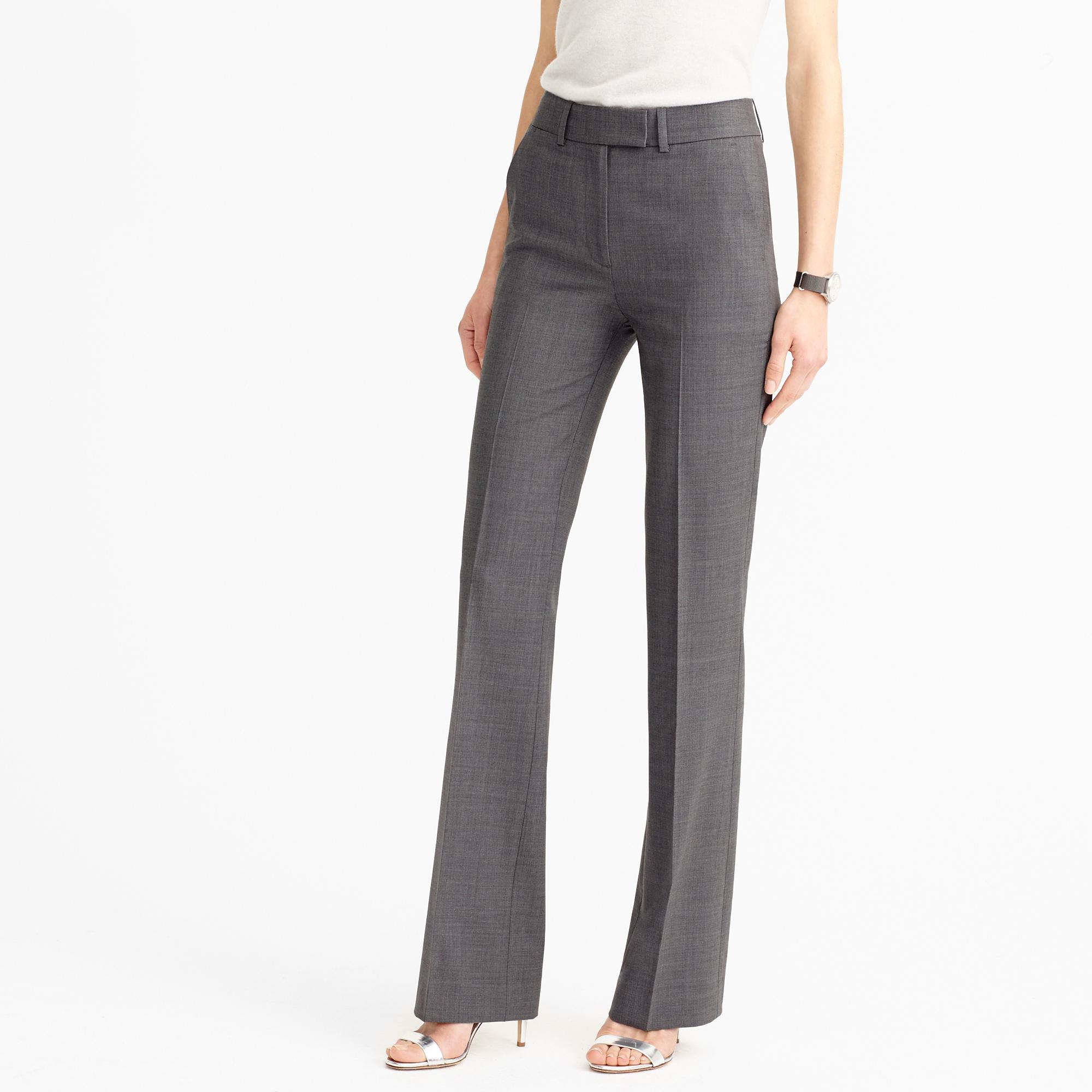 Preston Pant In Italian Stretch Wool : Women's Suit Pants | J.Crew