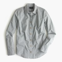 Perfect shirt in heather flannel dot