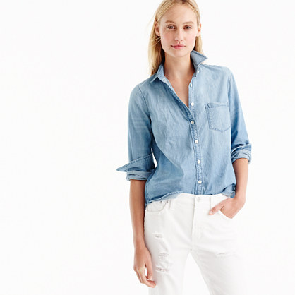 Tall always chambray shirt