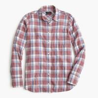 Boy shirt in dawson plaid