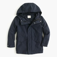 Kids' 3-in-1 cotton-nylon parka