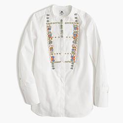 Collection Thomas Mason® for J.Crew crystal tux shirt