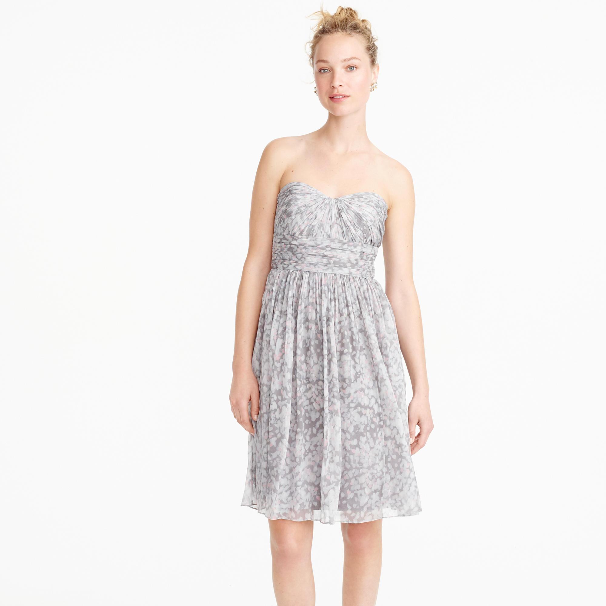 October 2014 dressyp part 3 marbella strapless dress in watercolor silk chiffon wedding ombrellifo Choice Image