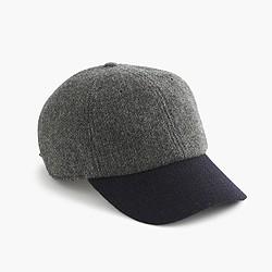 English wool baseball cap
