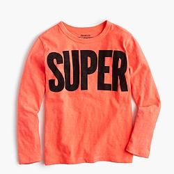 Boys' superhuman T-shirt