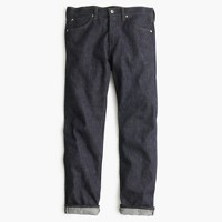 Wallace & Barnes straight raw indigo selvedge jean