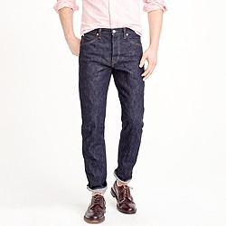 Wallace & Barnes straight raw indigo selvedge jean