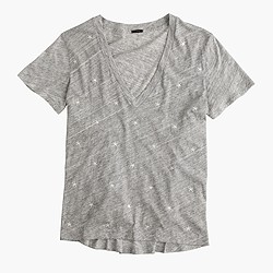 Embroidered star T-shirt