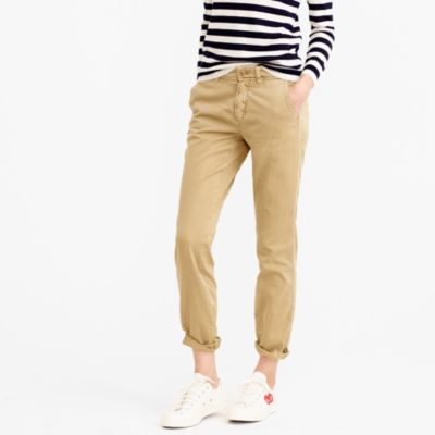 J.Crew Womens Sunday Slim Chinos in Five Colors