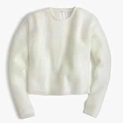 Collection mesh sweatshirt