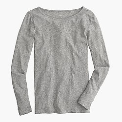 Petite long-sleeve painter T-shirt