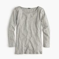 Long-sleeve embellished painter T-shirt