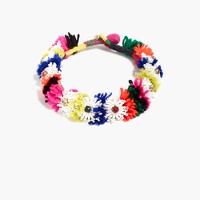 Beaded blossom necklace