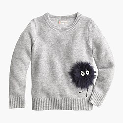 Girls' Max the Monster wool sweater