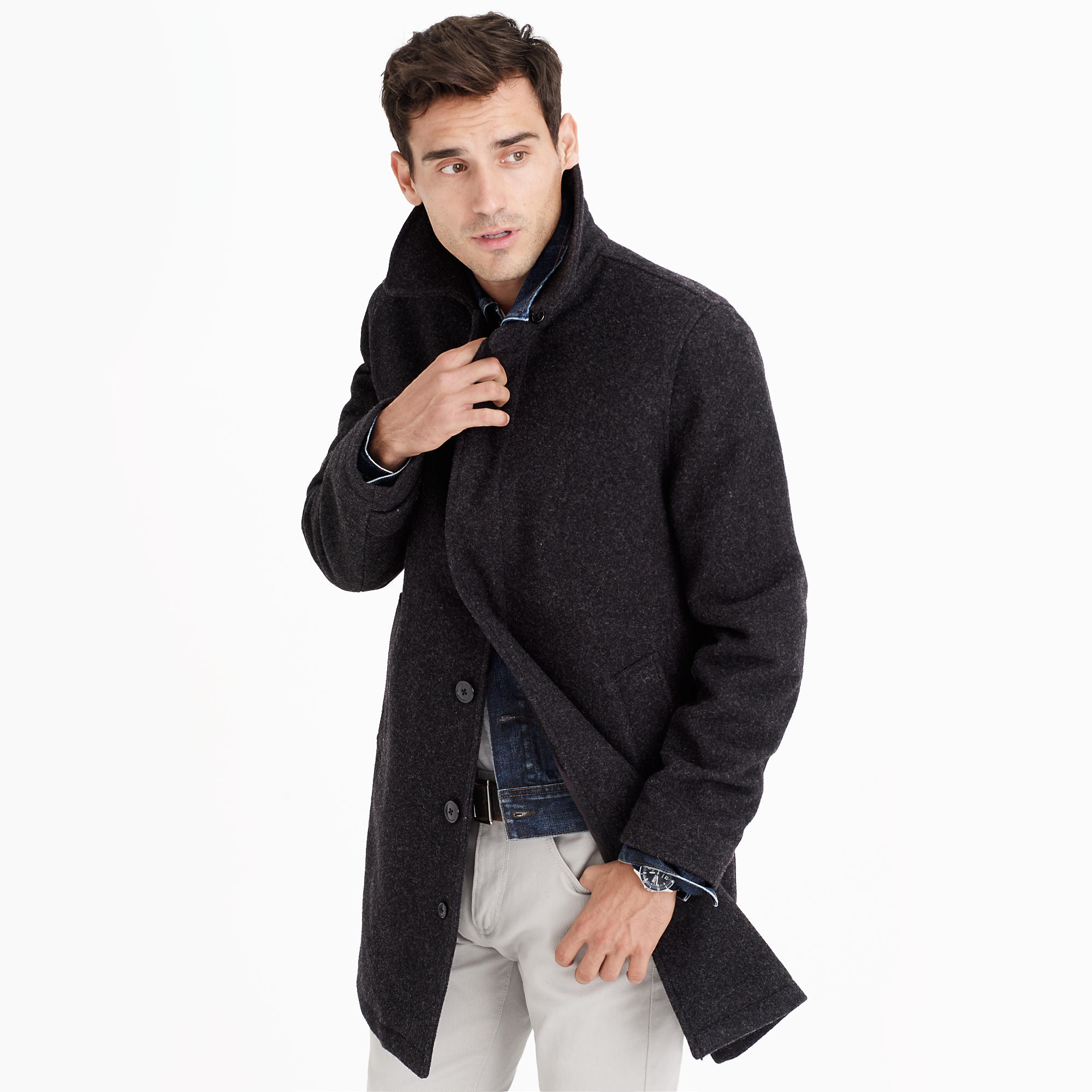 Car Length Coat | Down Coat