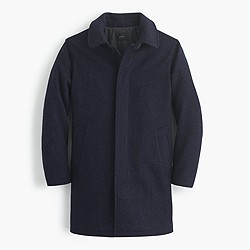 Wool car coat with Thinsulate®
