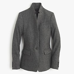 Regent blazer in Donegal wool