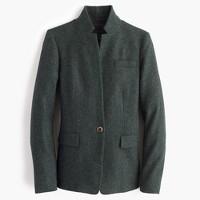 Petite Regent blazer in Donegal wool