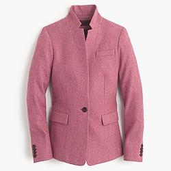 Regent blazer in Donegal wool