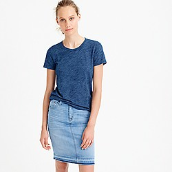 Indigo vintage cotton T-shirt