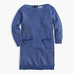 Girls' sparkle sweater-dress