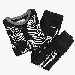Boys' pajama set in skeleton