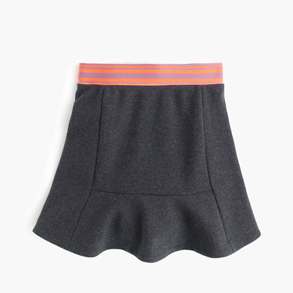 Girls' flare skirt