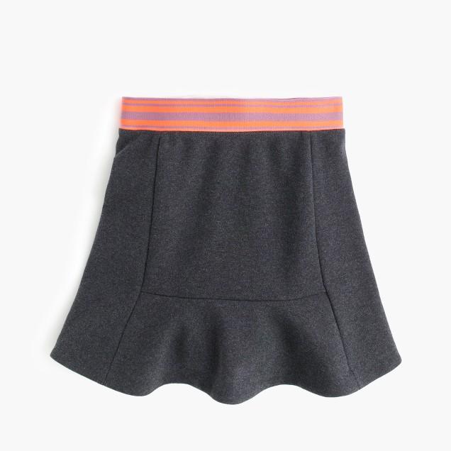 Girls' flare skirt
