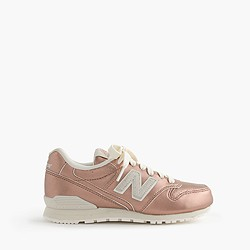 Kids' New Balance® for crewcuts 996 sneakers in rose gold