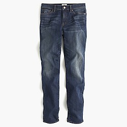 Petite lookout high-rise jean in Travers wash