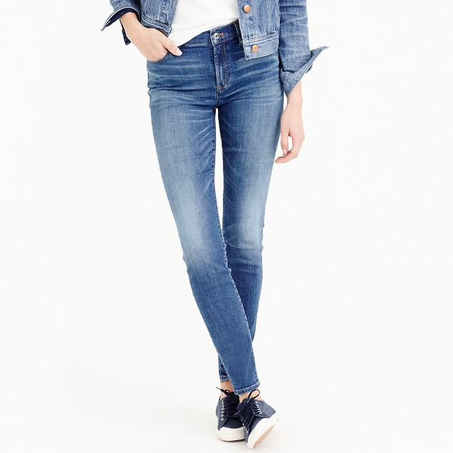 Petite lookout high-rise jean in Wallace wash
