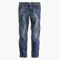 Toothpick jean in Hulton wash