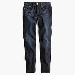 Petite toothpick jean in Flint wash