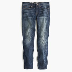 Toothpick jean in Pacific wash