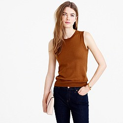 Lightweight wool Jackie sweater shell