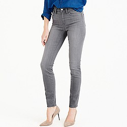 Petite lookout high-rise jean in medium grey