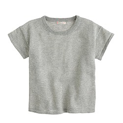 Girls' metallic T-shirt
