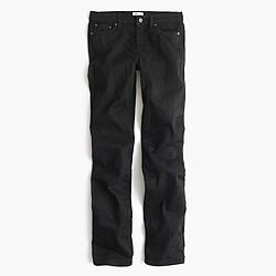 Bootcut jean in black