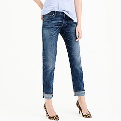 Slim broken-in boyfriend jean in Port Stewart wash