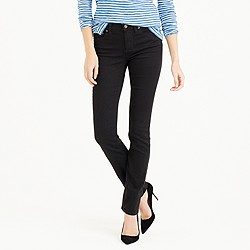 Matchstick jean in black