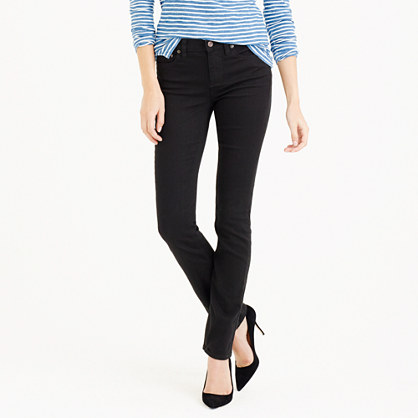 Tall matchstick jean in black